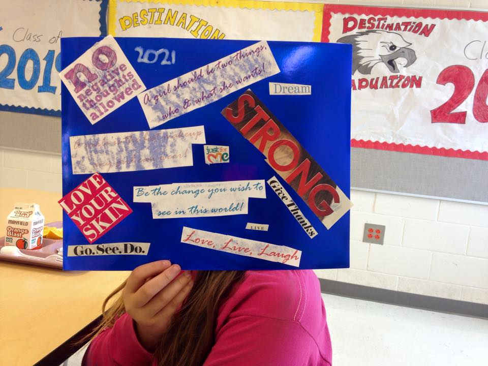 Middle School Vision Boards