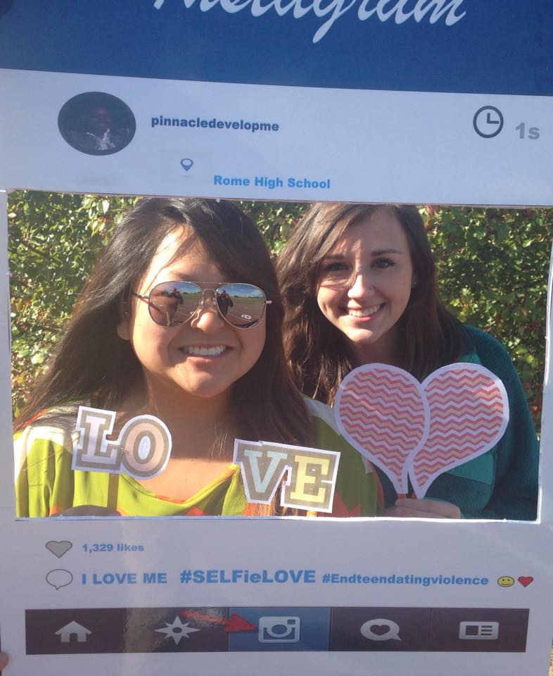Sexual Assault center joins in the selfie love